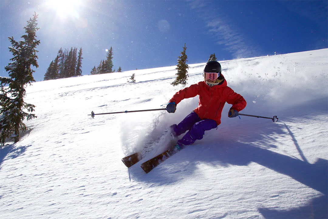 Monarch Mountain Skier