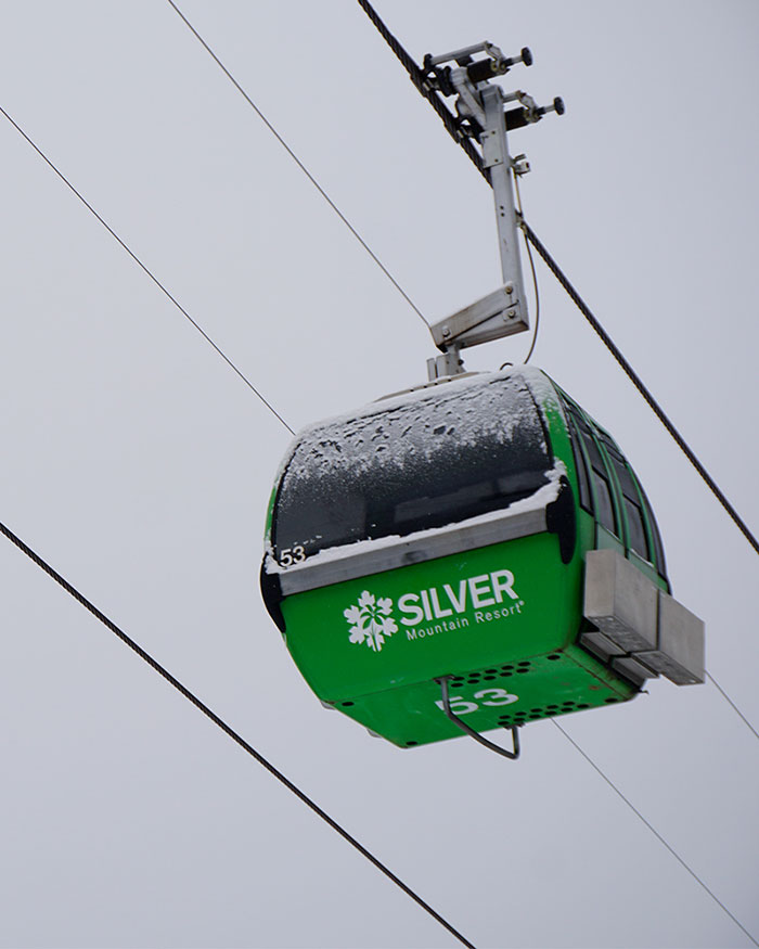 silver mountain chair lift